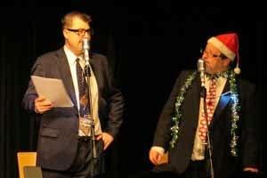 John Stretton & Simon Lenthen in The Goon Show LIVE!